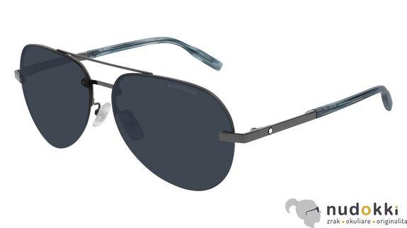 slnečné okuliare MONT BLANC MB0018S 008
