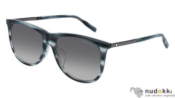 slnečné okuliare MONT BLANC MB0019SA 004