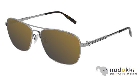 slnečné okuliare MONT BLANC MB0026S 009