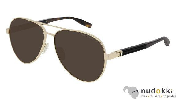 slnečné okuliare MONT BLANC MB0032S 003