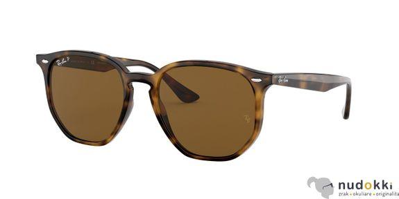 slnečné okuliare Ray-Ban POLARIZED RB4306 710/83