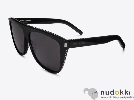 slnečné okuliare SAINT LAURENT SL 1 STUD 022