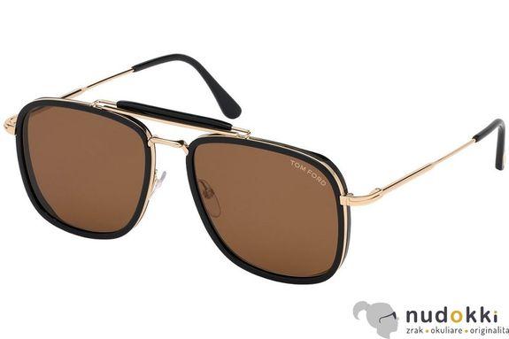 slnečné okuliare Tom Ford FT0665 01E