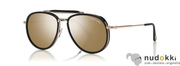 slnečné okuliare Tom Ford FT0666 01G
