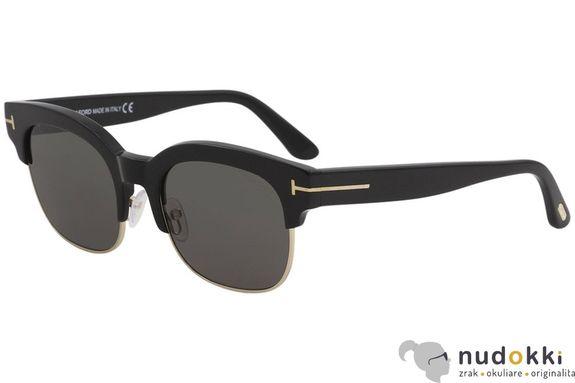 slnečné okuliare Tom Ford HARRY FT597 01D POLARIZED