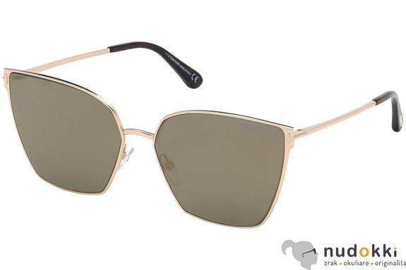 slnečné okuliare Tom Ford HELENA FT0653 28C