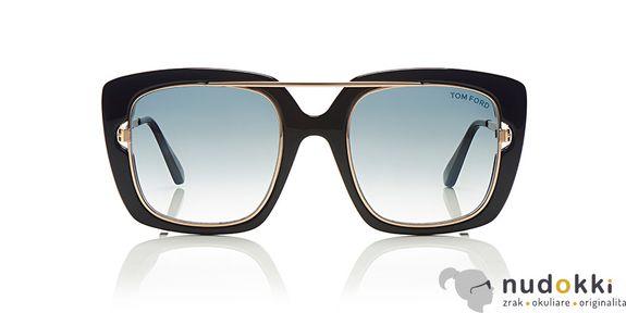slnečné okuliare Tom Ford MARISSA-02 FT 0619 01B