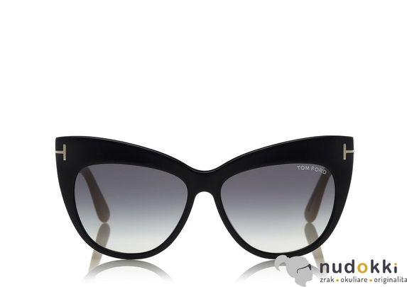 slnečné okuliare Tom Ford NIKA FT 0523 01W