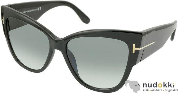 slnečné okuliare Tom Ford ANOUSHKA FT0371 01B
