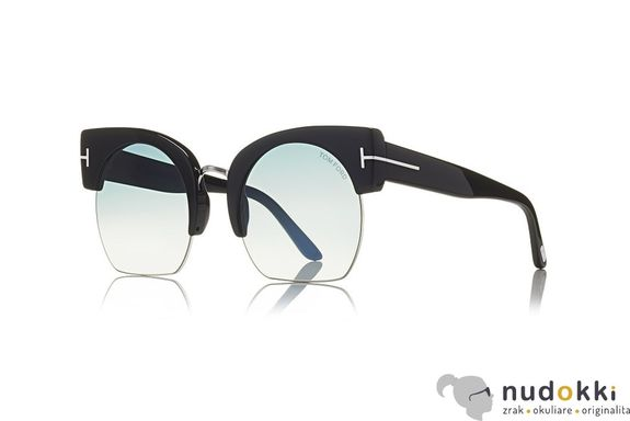 slnečné okuliare Tom Ford SAVANAHH-02 FT 0552 01W