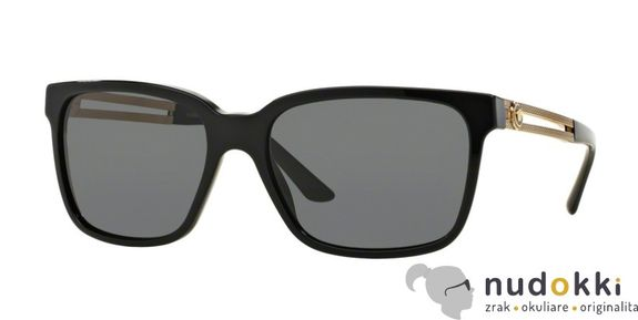 slnečné okuliare Versace VE 4307 GB1/87