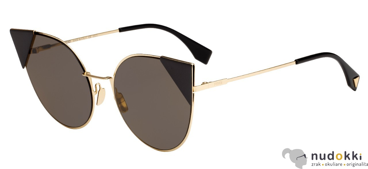slnečné okuliare Fendi FF 0190 000-BW - Nudokki.sk 4299069eeb0