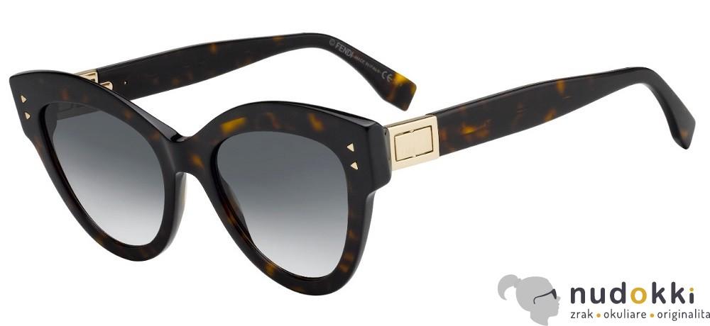 slnečné okuliare Fendi FF 0266 S PEEKABO 086 9O - Nudokki.sk c136e61a933