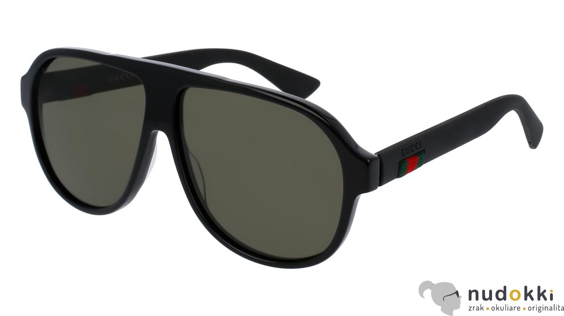 slnečné okuliare Gucci GG 0009S 001 - Nudokki.sk 26a3a11600d