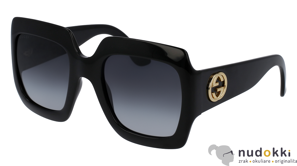 slnečné okuliare Gucci GG 0053S 001 - Nudokki.sk 61c241025a4