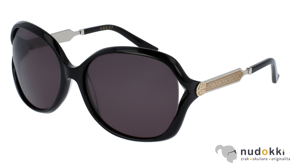 slnečné okuliare Gucci GG 0076S 001 zväčšiť obrázok 917950477f1