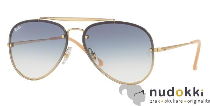 slnečné okuliare Ray-Ban BLAZE AVIATOR RB 3584N 001 19 - Nudokki.sk 419221a0681
